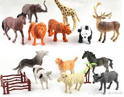 plastic zoo animals toys. Fine Plastic 2018 Sell By Set Plastic Zoo Animal Figure Tiger Leopard Hippo Giraffe Kids  Toy Lovely Toys Gift For From Dreamkids 403  DhgateCom And Animals