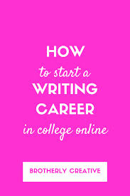 how to start a lance writing career for college students lance writing career for college students