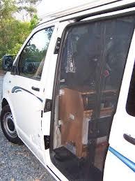 volkswagen transporter t5 sliding door insect screen
