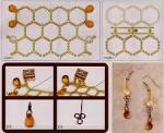 Схема плетения пчелы