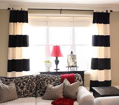Black living room curtains Blackout Curtains Feel Like These Bold Stripes Are Diy Waiting To Happen On My White Dining Room Curtains Yep Just Now Decided It Will Happen Pinterest Feel Like These Bold Stripes Are Diy Waiting To Happen On My