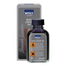 get ations woly black leather dye