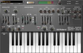 SH-101 PLUG-OUT   Software Synthesizer - Roland