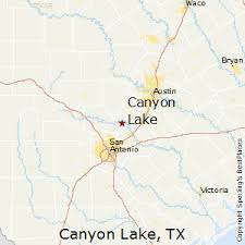 best places to live in canyon lake texas canyon lake texas map