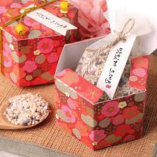 150 x chinese red joyous plum flower hexagonal favor gift boxes upscale sweet cookie box wholesale cookie boxes wholesale e99