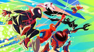 Spider Verse Heroes 4k superheroes ...