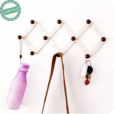 Coat Rack Organizer 100 Hook Wall Mounted Coat Rack Hanger Purse Scarf Hat Jacket Holder 98
