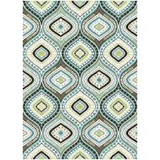 light blue and brown area rug dark brown and light blue area rug throughout blue brown