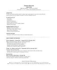 Free Medical Assistant Resume Medical Assistant Resume Skills