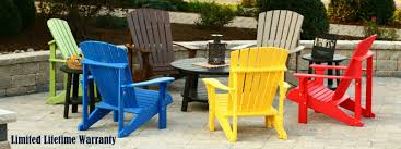 Recycled Plastic Adirondack Chairs Plastic Adirondack Deep Outdoor Furniture Recycled