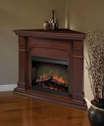 Propane corner fireplace