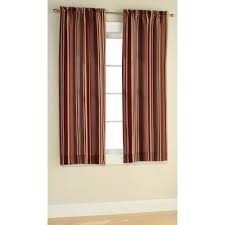 fantastic vertical striped curtains design ideas for living room decor with glass window also white baseboard