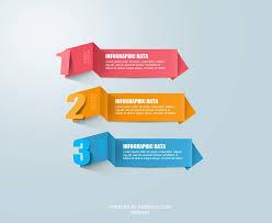 Free Psd Modern Infographic Origami By Muhiza On Deviantart