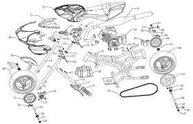 yamaha 150cc 4 wheeler scooter wiring diagram moreover 50cc chinese wiring engine diagram