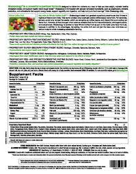 shakeology cafÉ latte supplement facts if interested in ordering saving and beginning your health wellness fitness journey please contact me at