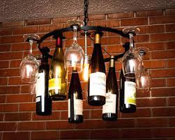 wine rack chandelier ceiling light mount kit