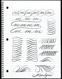 Penmanship Practice Graphic Design Penma