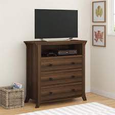 Amazon.com: Altra Furniture Ameriwood Home Oakridge 3 Drawer Media Dresser,  Brown Oak: Kitchen U0026 Dining