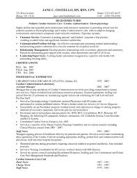 Example Of Registered Nurse Resume Best Sample Registered Nurse Resume 48 Bsc Cover Letter And Samples