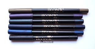 kryolan ikonic gel eye liner pencils review swatches india makeup s