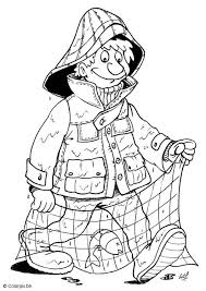 Small Picture Coloring page fisherman img 5702