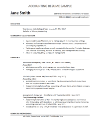 Example Of Accountant Resumes Accountant Resume Sample Chegg Careermatch