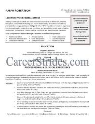 Sample Lpn Nursing Resume Resume Ideas