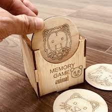 Đồ Chơi Gỗ Thông Minh,Trò Chơi Luyện Trí Nhớ Memory Game Giúp Bé Luyện Khả  Năng Nghi Nhớ Hình Ảnh Chủ Đề Động Vật Animal - Khác Hãng BENRIKIDS