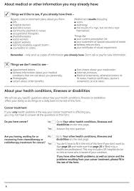 medical evidence citizens advice esa50 example form