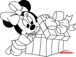 Baby Mickey Christmas Coloring Pagesl