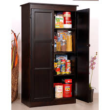 Wooden Storage Cabinets With Doors Wooden Kitchen Storage Cabinets Monsterlune