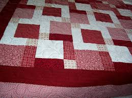 Red and White Tossed Nine Patch by Eleanor Burns of Quilt in a Day ... & Red and White Tossed Nine Patch by Eleanor Burns of Quilt in a Day -- Adamdwight.com