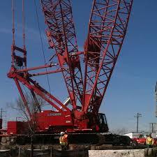 Manitowoc 2250 Load Chart Manitowoc 2250 300 Ton Crawler Crane