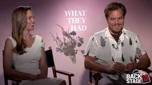 WHAT THEY HAD Interview with Hilary Swank & Michael Shannon - YouTube