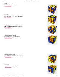 33 Best Rubiks Cube Algorithms Images In 2019 Rubiks Cube
