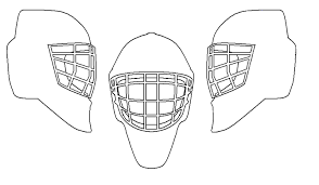 Small Picture Hockey Goalie Pads Coloring Pages