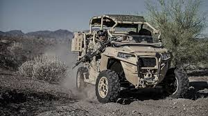 polaris debuts new all terrain vehicle for expeditionary forces