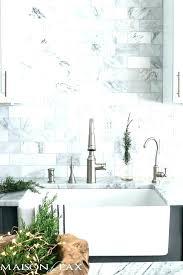 carrara marble subway tile backsplash photos honed white com kitchen tiles and su