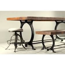 Industrial Kitchen Table Furniture Hyatt Canning Industrial Dining Table