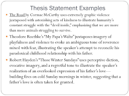 ap english literature and composition ppt video online  26 thesis statement examples the road by cormac mccarthy