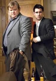 best mad eye images brendan gleeson mad and  irish actors brendan gleeson and colin farrell in bruges