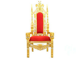 seat gold throne chair front als king queen furniture s nyc bronx