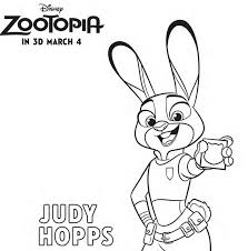 Check your email for your downloadable coloring sheet. Zootopia Coloring Pages Free Printables For The Kids Zootopiaevent Lady And The Blog