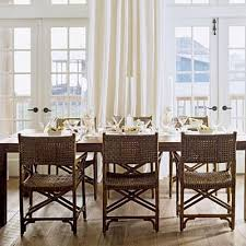 dining room furniture beach house. Beach Dining Room #dining #room #beach #rattan #chairs #neutral Furniture House