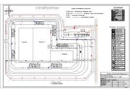 Диплом ПГС промышленное здание деревообрабатывающий цех 10 Стройгенплан
