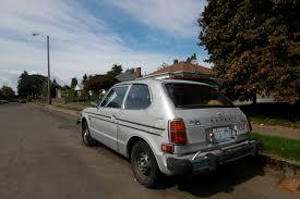 OLD PARKED CARS.: 1979 Honda Civic CVCC.
