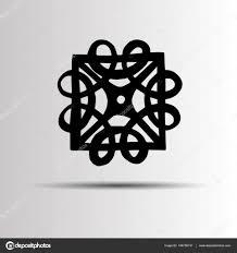 Vektor Keltské Znamení Designu Symbol Logo Prvek Abstraktní Uzel