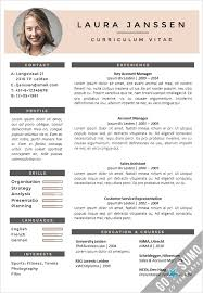 Template For Curriculum Vitae Interesting Template For Curriculum Vitae Funfpandroidco