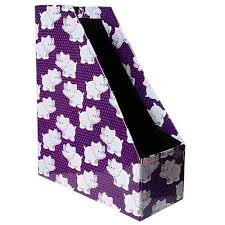 Purple Magazine Holder