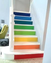 Rainbow Stairs Color